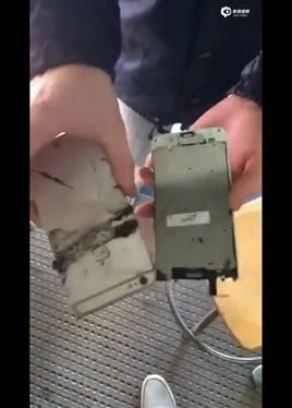 自燃!iPhone 6 Plus又着火了